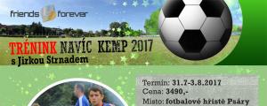 TRÉNINK NAVÍC KEMP S JIRKOU STRNADEM 31.7.-3.8. Psáry