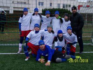 Mladší žáci odehráli zimní ligu 2017/2018 na Motorletu